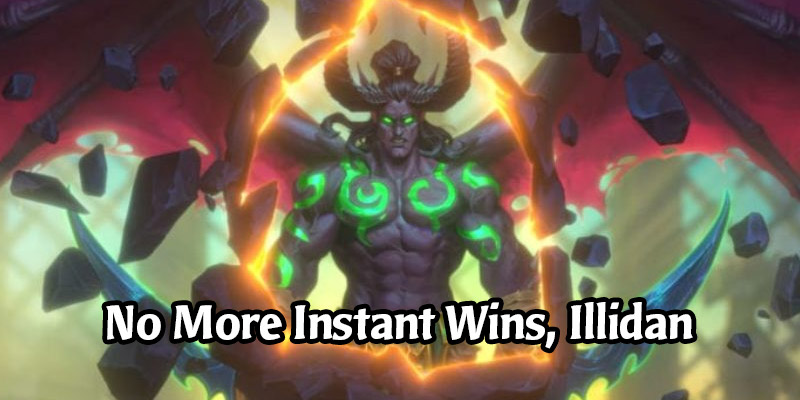 Blizzard Has Fixed Tavern Brawl Illidan's Instant Win Hero Power and Missing Legendary Quest Rewards