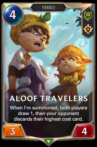 Aloof Travelers Card Image