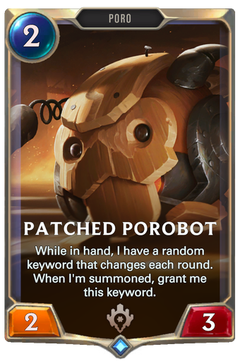 Patched Porobot Card Image