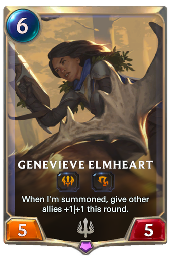 Genevieve Elmheart Card Image