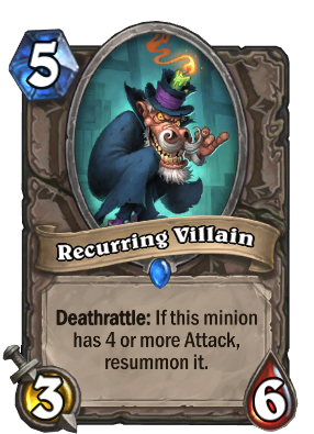 Recurring Villain Card Image