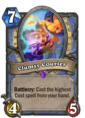 Clumsy Courier Card Image