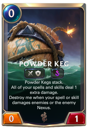 Powder Keg Card Image
