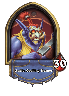 Awilo, Cooking Trainer Card Image