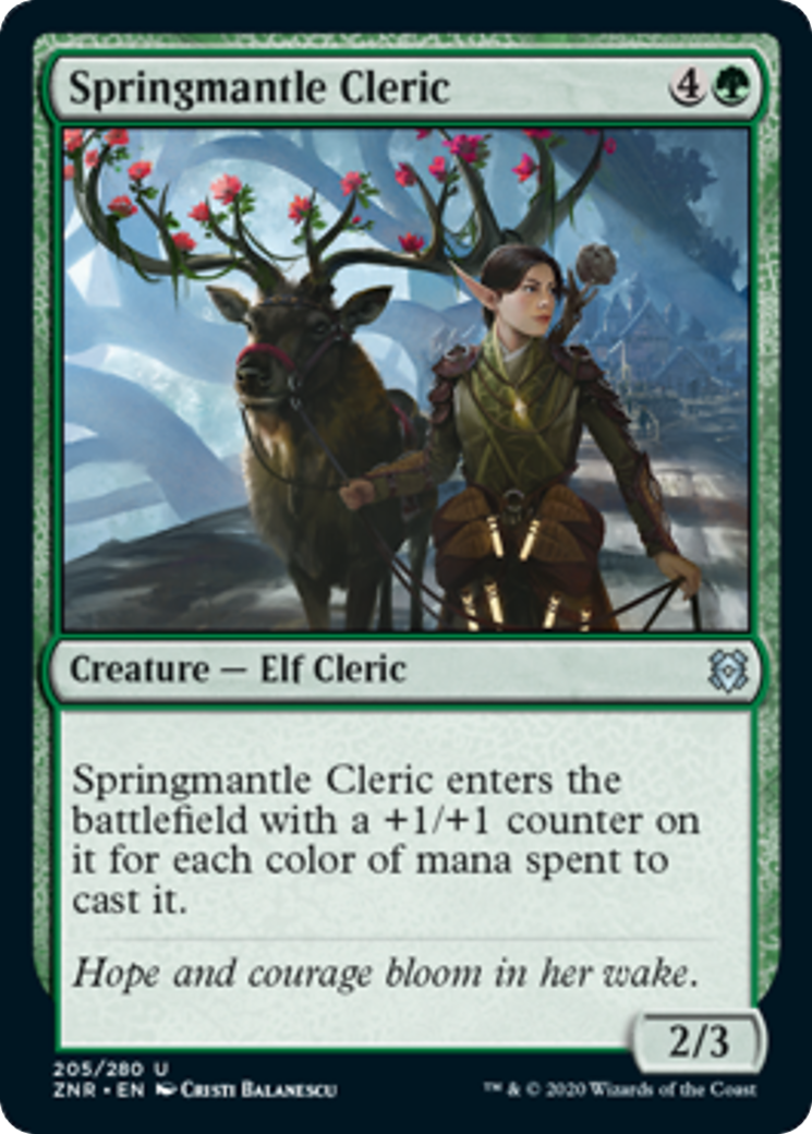 Springmantle Cleric Card Image