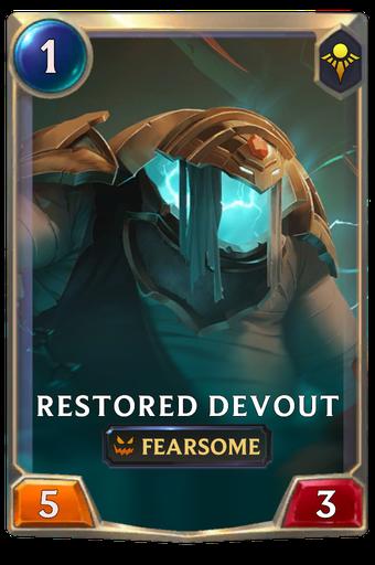 Restored Devout Card Image