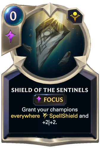 Shield of the Sentinels Card Image