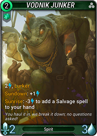 Vodnik Junker Card Image