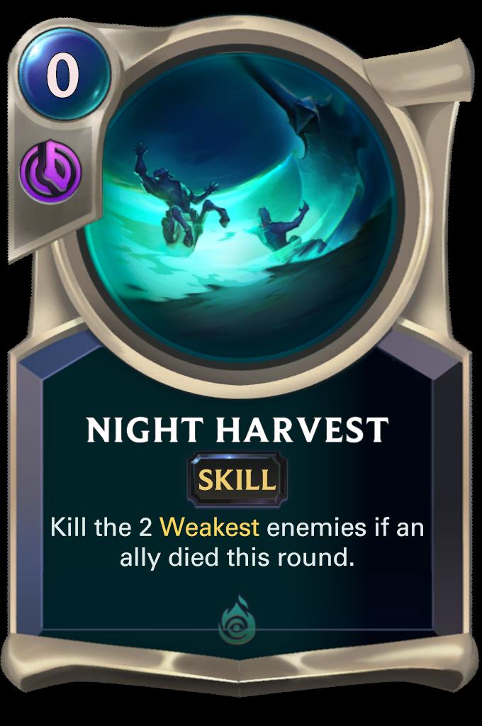 Night Harvest Card Image