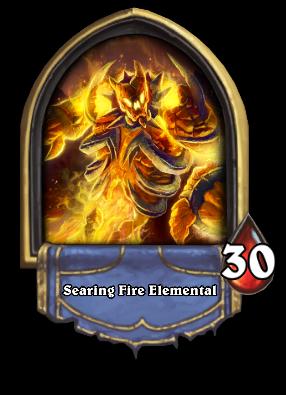 Searing Fire Elemental Card Image