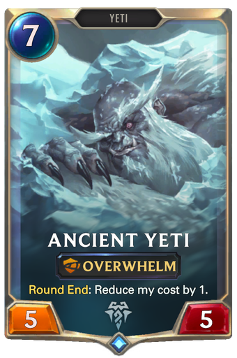 Ancient Yeti Card Image