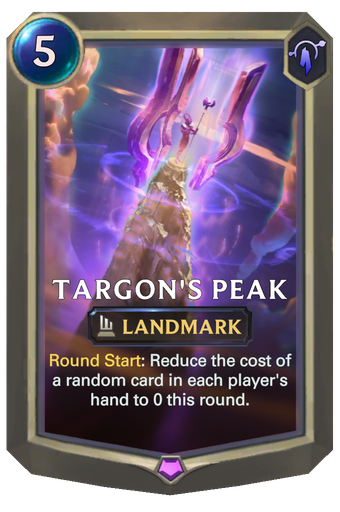 Targon's Peak Card Image