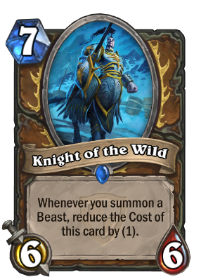 Knight of the Wild Card Image