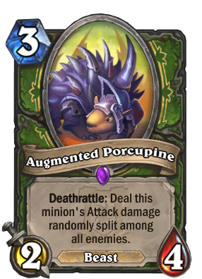 Augmented Porcupine Card Image