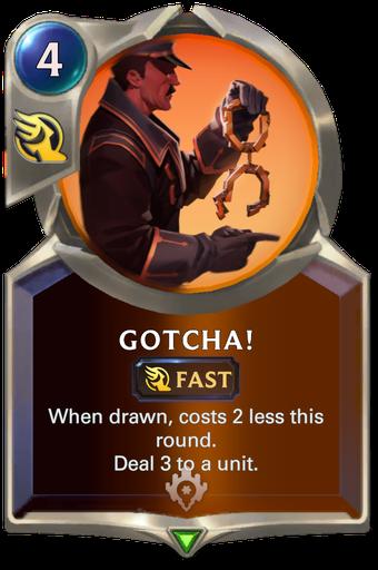 Gotcha! Card Image