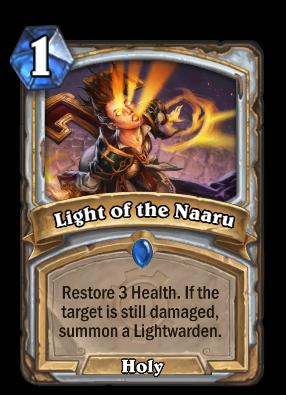 Light of the Naaru Card Image