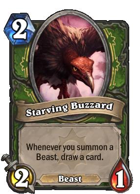 Starving Buzzard Card Image