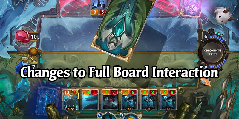 Legends of Runeterra - You Can Now Play Units on a Full Board