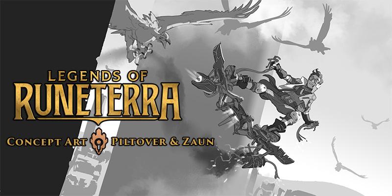 Legends of Runeterra Concept Art Spotlight - Piltover & Zaun