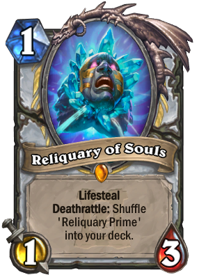Reliquary of Souls Card Image