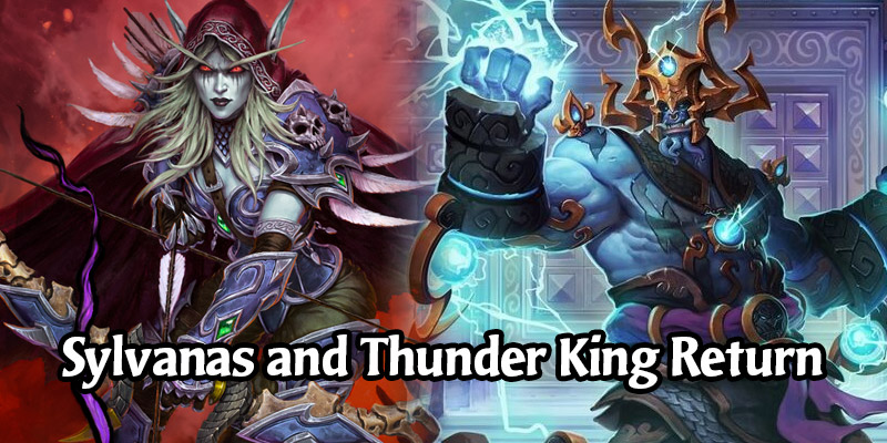 Hearthstone's Sylvanas and Thunder King Heroes Are Returning to the Shop