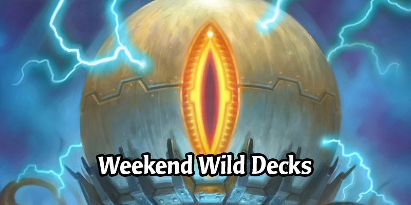 Weekend Wild Hearthstone Decks - Mecha'thun Warlock, Odd Rogue, Miracle Priest, and More!