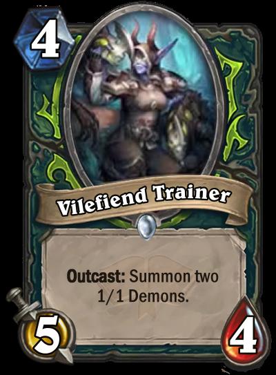 Vilefiend Trainer Card Image