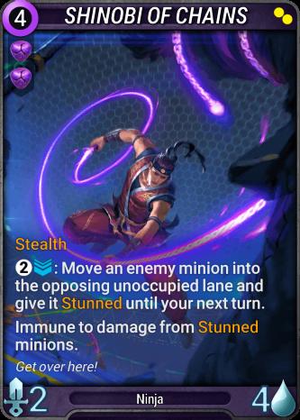 Shinobi of Chains Card Image