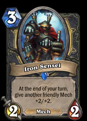 Iron Sensei Card Image