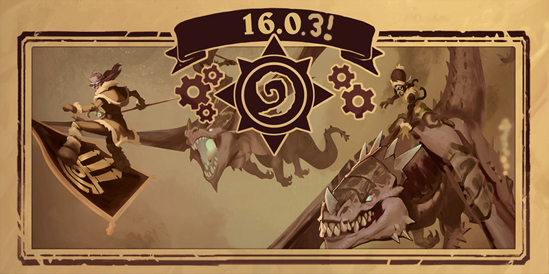 Hearthstone 16.0.3 Update - Bug Fixes, Arena and Battlegrounds Balance Changes
