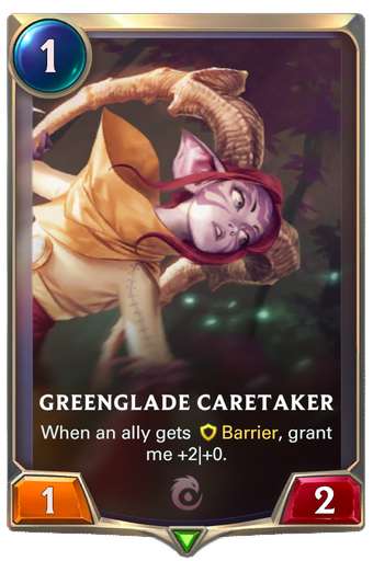 Greenglade Caretaker Card Image