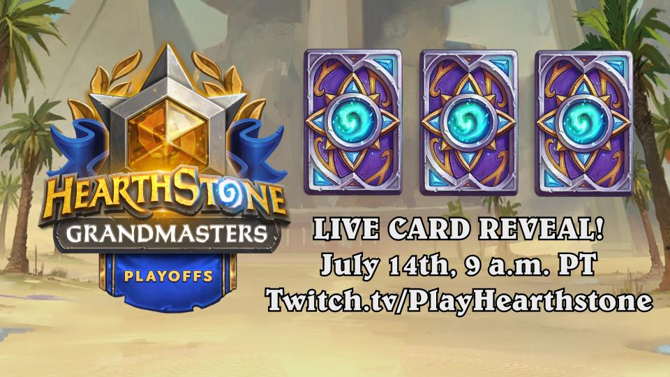 Three New Uldum Cards Revealed This Weekend During Hearthstone Grandmasters Playoffs