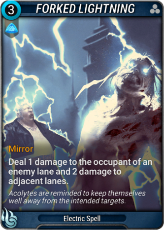 Forked Lightning Card Image