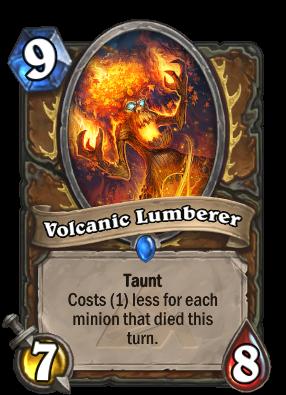 Volcanic Lumberer Card Image