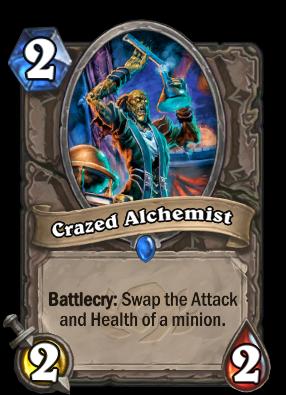 Crazed Alchemist Card Image