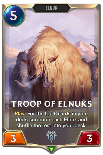 Troop of Elnuks Card Image