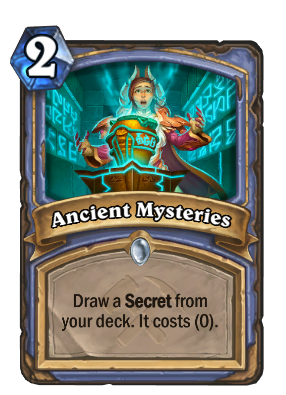 Ancient Mysteries Card Image