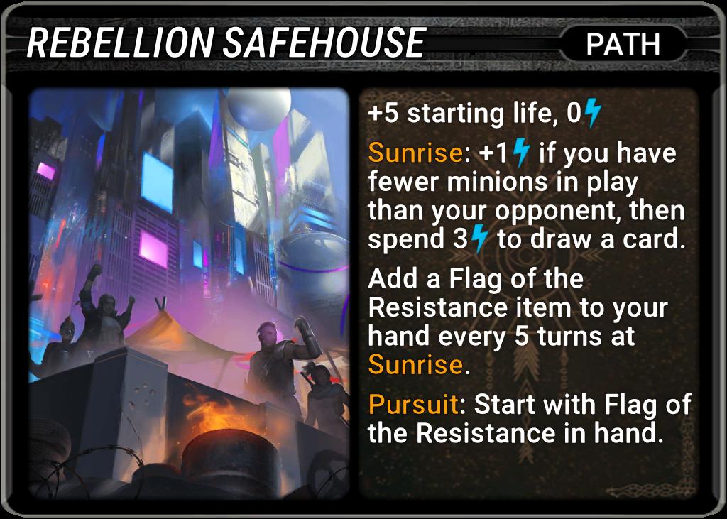 Rebellion Safehouse Card Image
