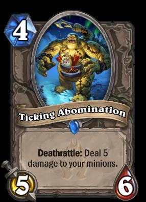 Ticking Abomination Card Image