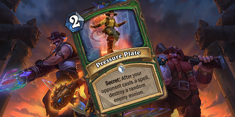 Uldum Card Reveal - Pressure Plate