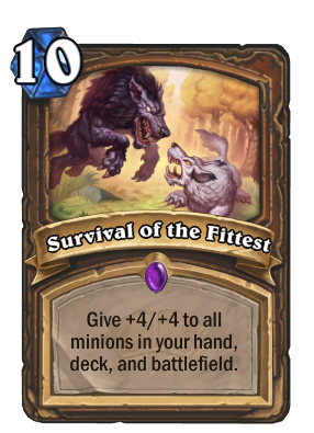 Survival of the Fittest Card Image