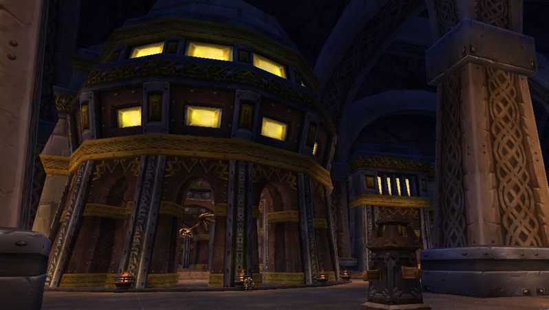The Hall of Explorers in Ironforge