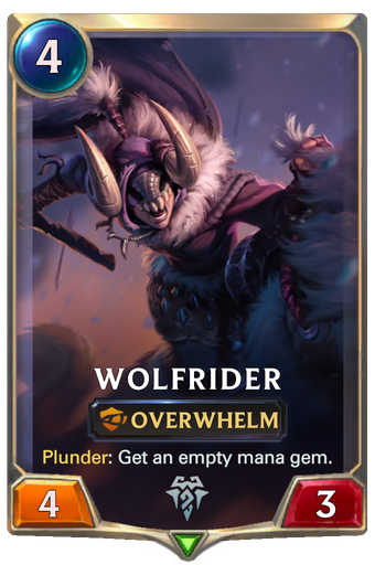 Wolfrider Card Image