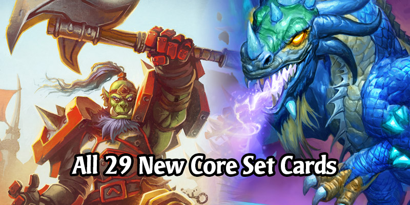 All the New Core Set Cards Coming to Hearthstone in Year of the Gryphon + Full 235 Cards Reveal