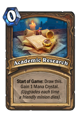 Academic Research Card Image