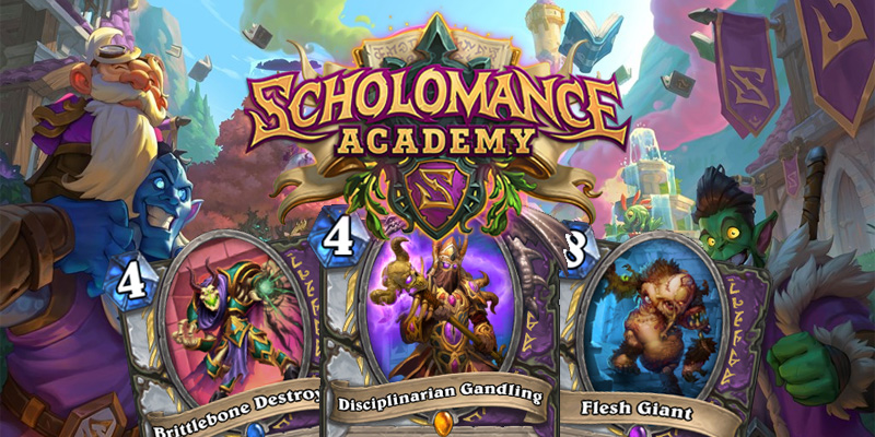 Our Thoughts on Hearthstone's Scholomance Academy Priest/Warlock Dual Class Cards