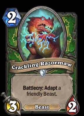 Crackling Razormaw Card Image