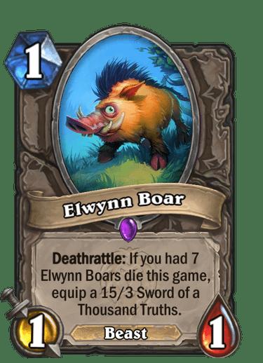 Elwynn Boar Card Image