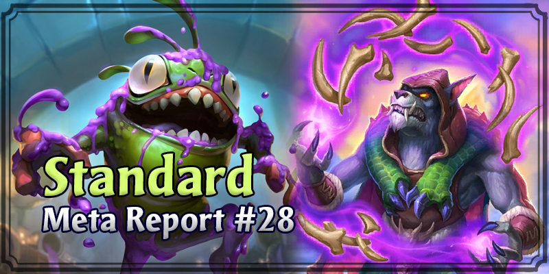 Standard Meta Report #28 - Top Hearthstone Decks March 22, 2020 - March 29, 2020