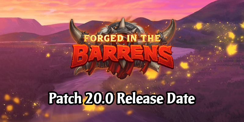 Hearthstone's 20.0 Patch is Releasing on March 25 - Here's What's In It